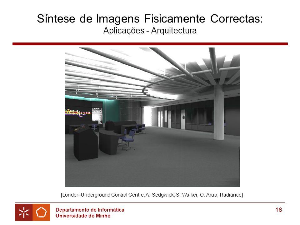 Síntese de Imagens Fisicamente Correctas: Aplicações - Arquitectura