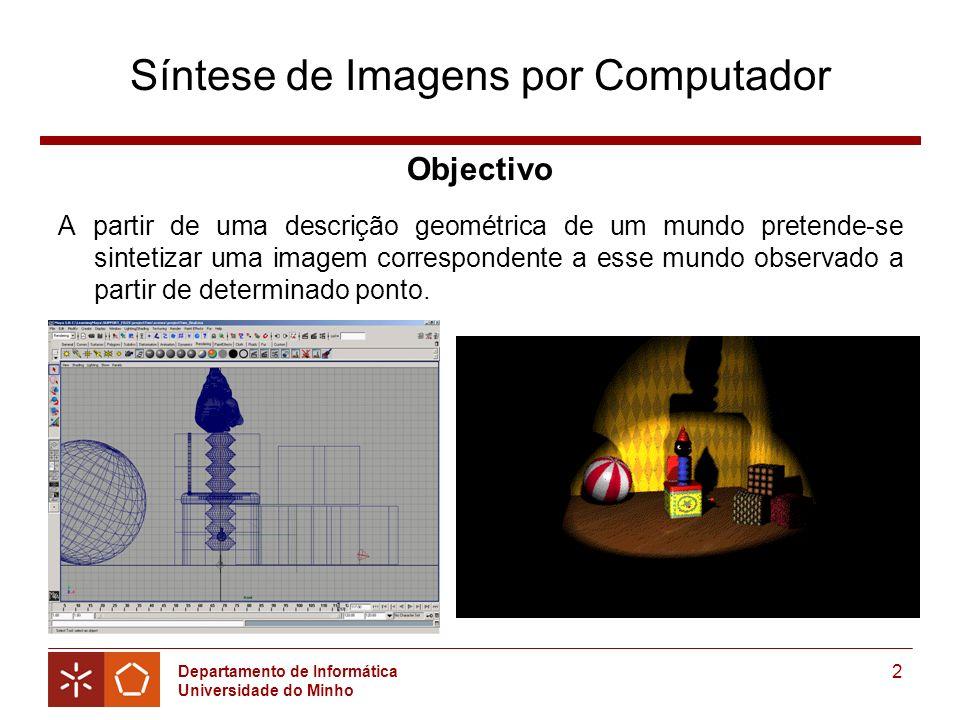 Síntese de Imagens por Computador
