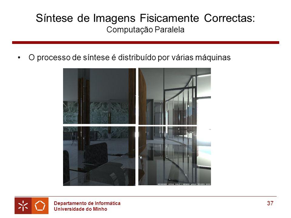 Síntese de Imagens Fisicamente Correctas: Computação Paralela