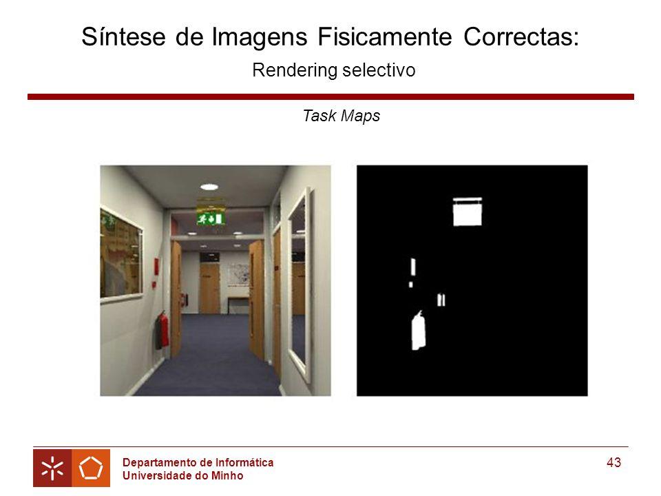 Síntese de Imagens Fisicamente Correctas: Rendering selectivo