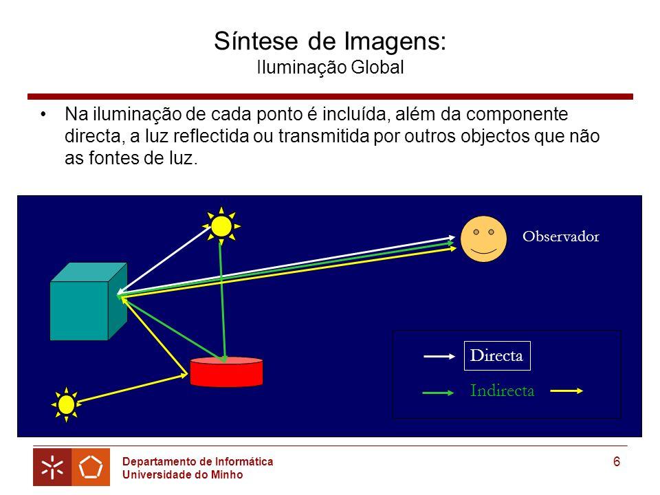 Síntese de Imagens: Iluminação Global