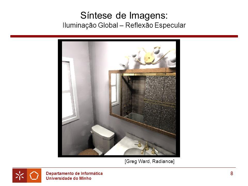 Síntese de Imagens: Iluminação Global – Reflexão Especular
