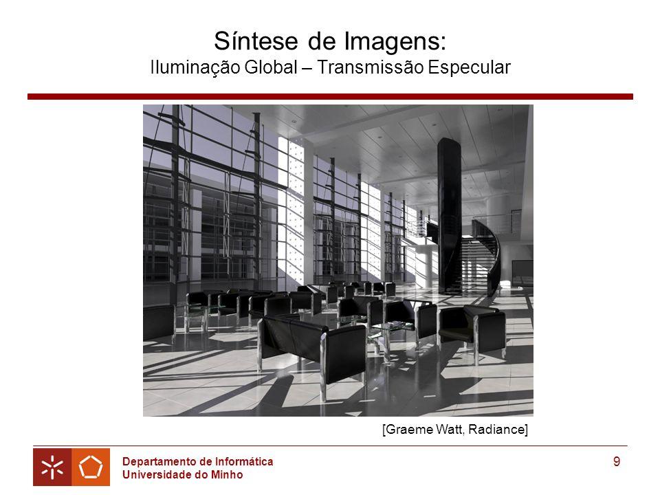 Síntese de Imagens: Iluminação Global – Transmissão Especular