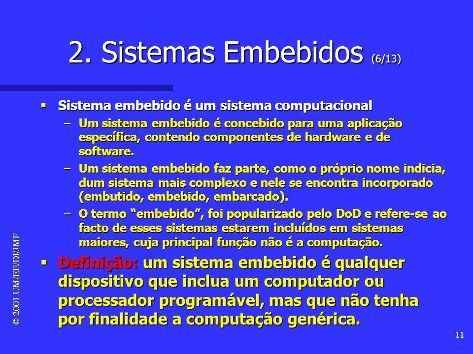 2. Sistemas Embebidos (6/13)