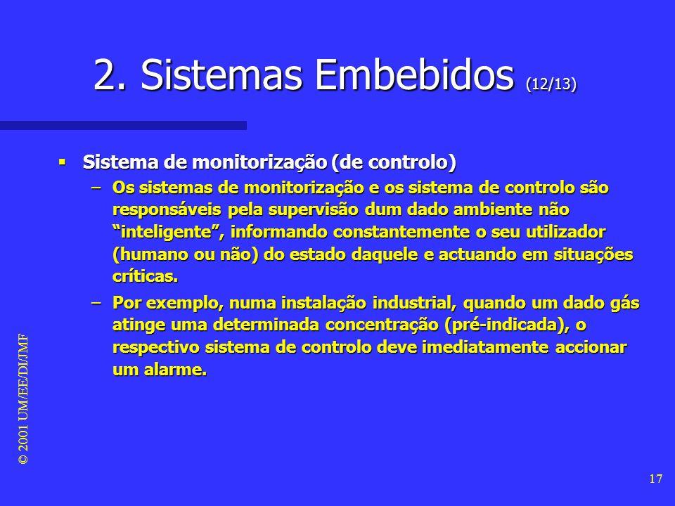 2. Sistemas Embebidos (12/13)