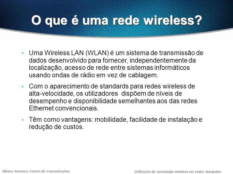 O que é uma rede wireless