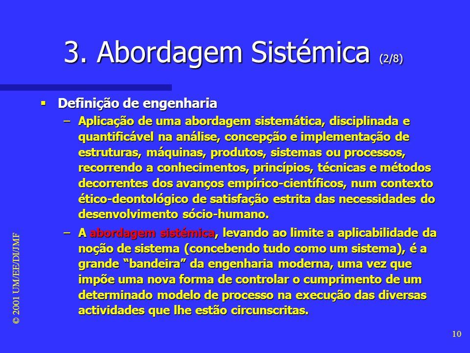 3. Abordagem Sistémica (2/8)