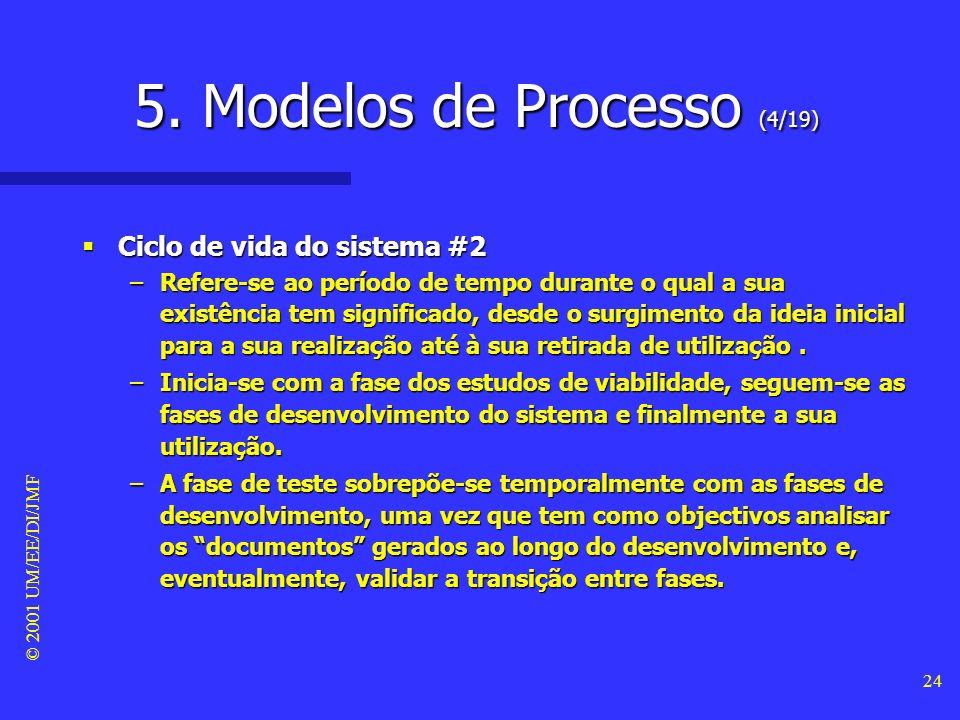 5. Modelos de Processo (4/19)
