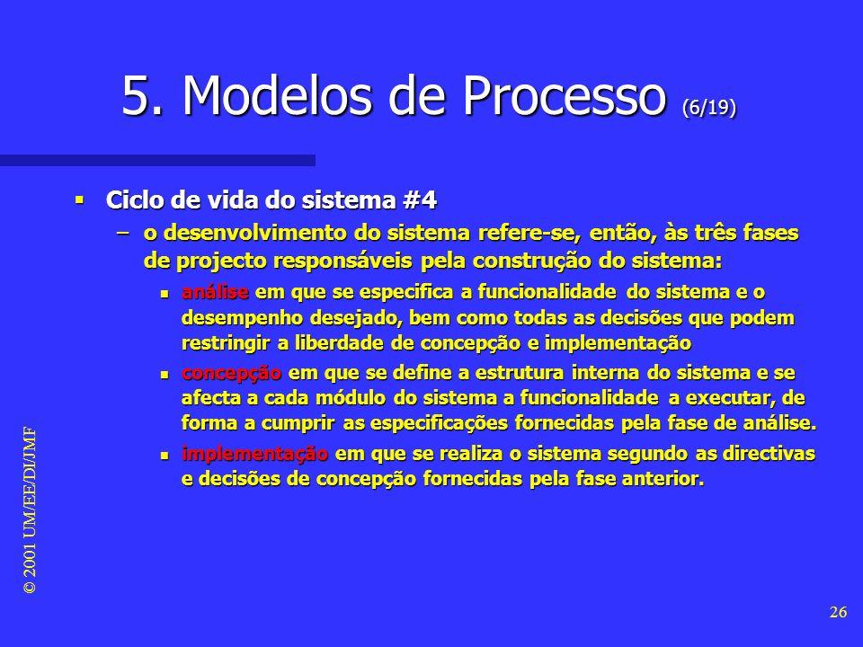 5. Modelos de Processo (6/19)