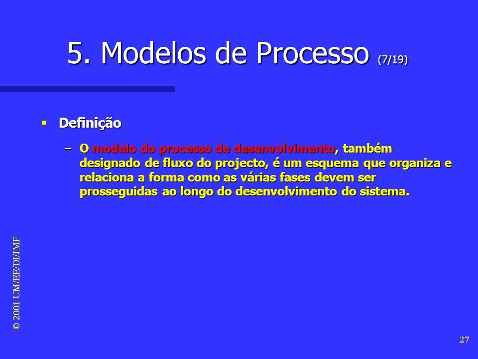 5. Modelos de Processo (7/19)