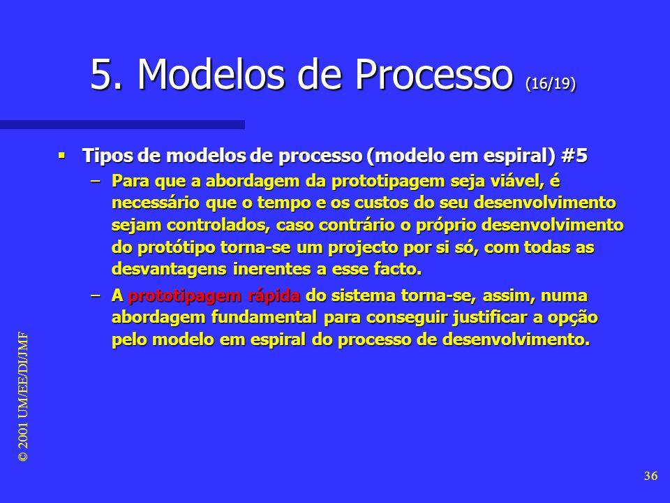 5. Modelos de Processo (16/19)