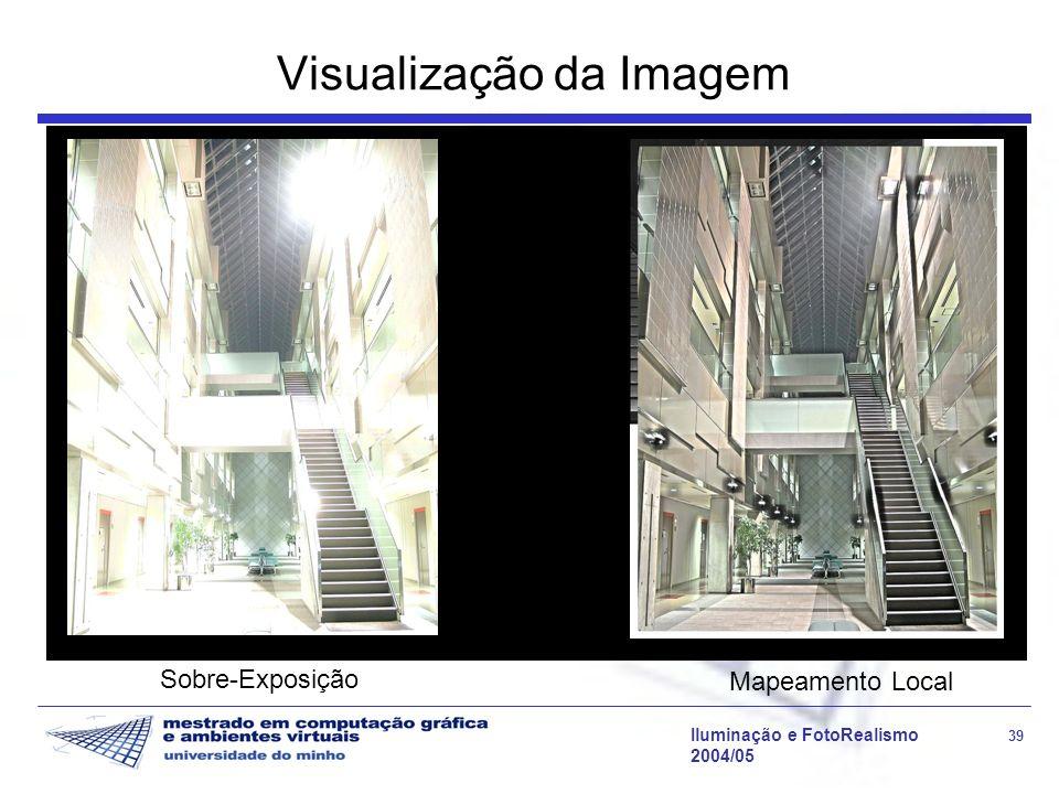 Visualização da Imagem