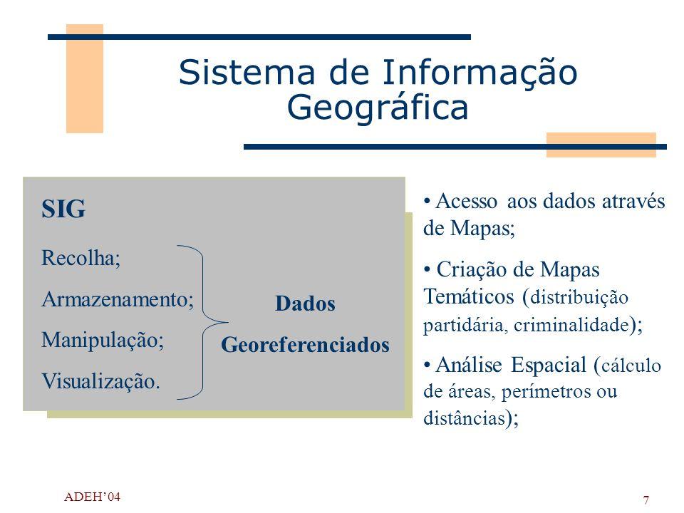 Sistema de Informação Geográfica