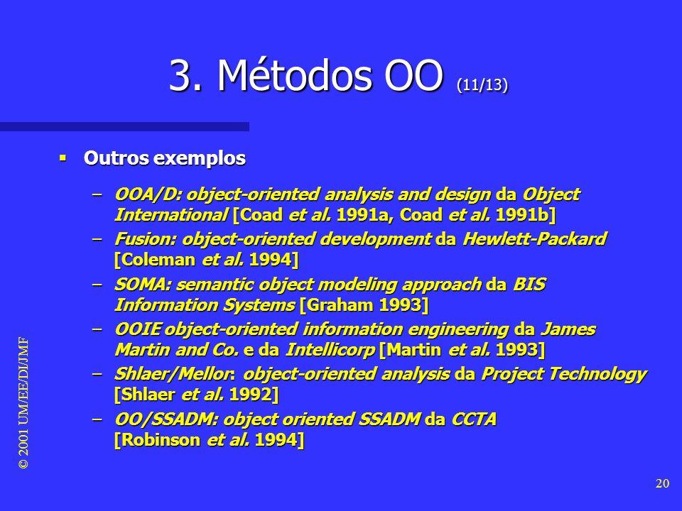 3. Métodos OO (11/13) Outros exemplos