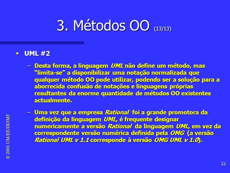 3. Métodos OO (13/13) UML #2.