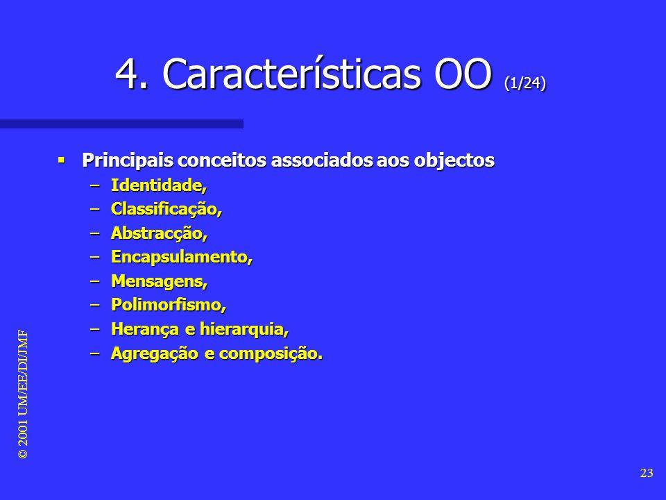 4. Características OO (1/24)