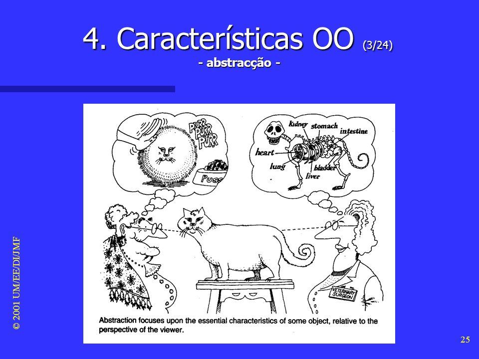 4. Características OO (3/24) - abstracção -