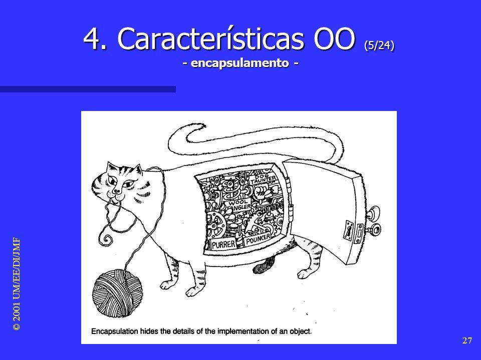 4. Características OO (5/24) - encapsulamento -