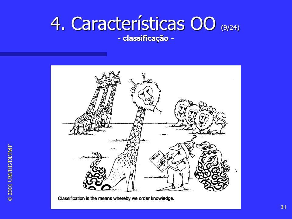 4. Características OO (9/24) - classificação -