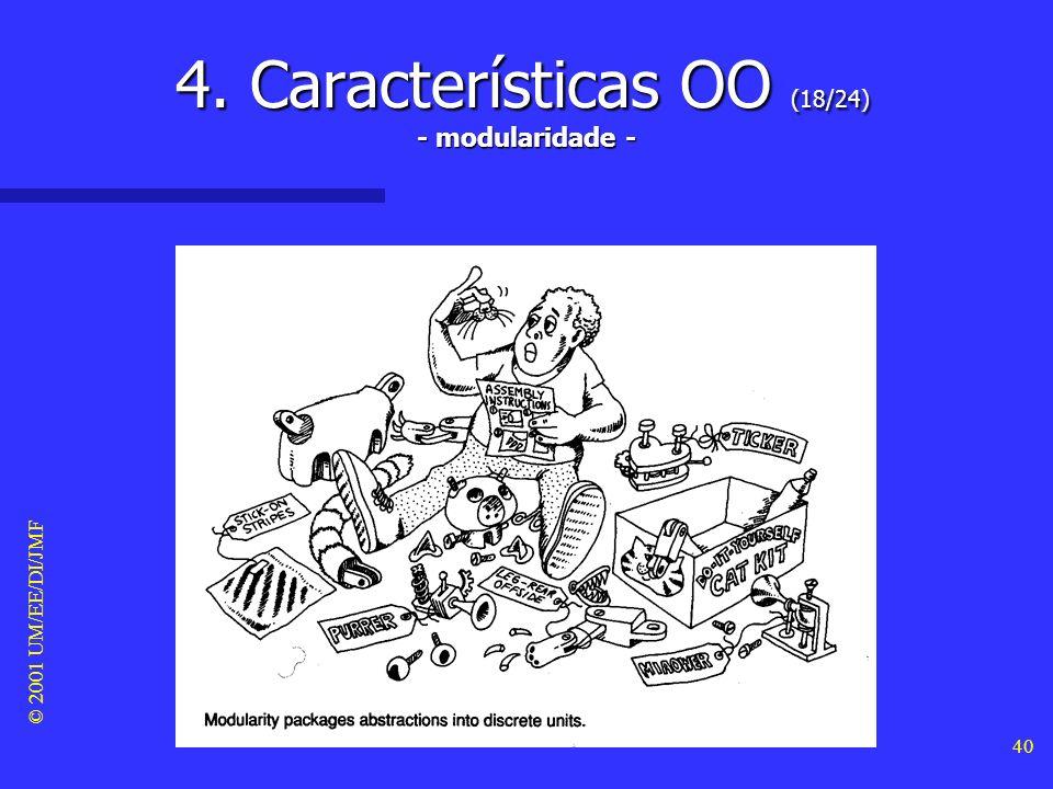 4. Características OO (18/24) - modularidade -