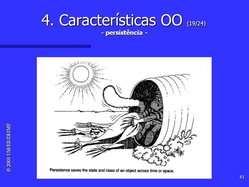 4. Características OO (19/24) - persistência -