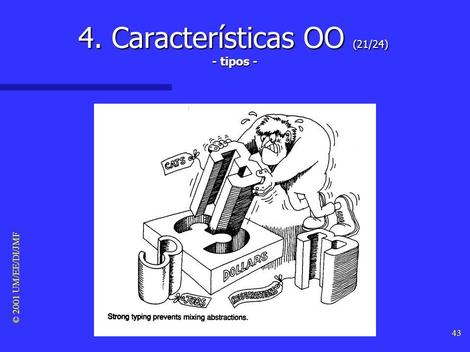 4. Características OO (21/24) - tipos -