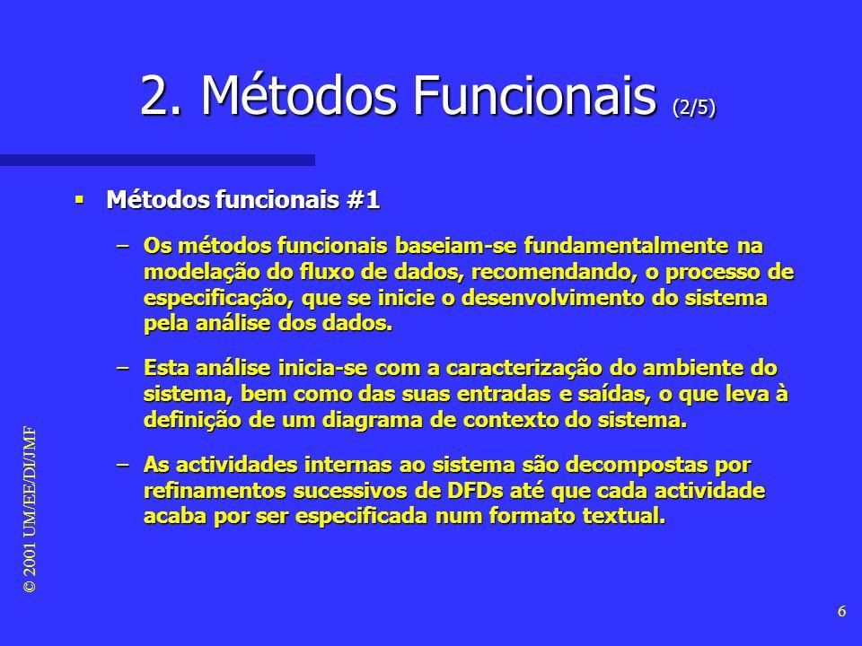 2. Métodos Funcionais (2/5)