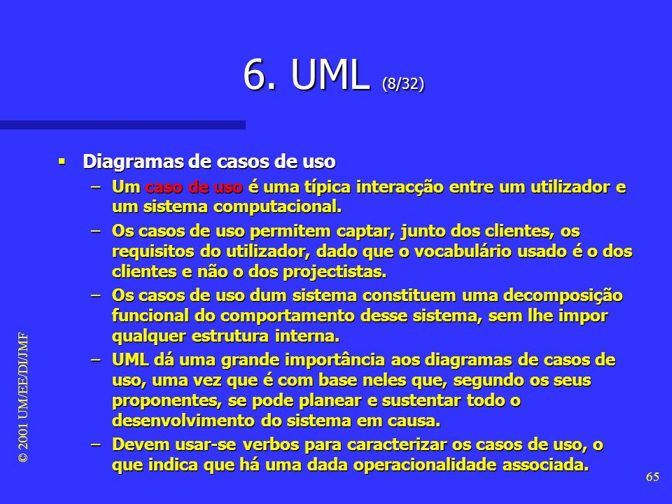 6. UML (8/32) Diagramas de casos de uso