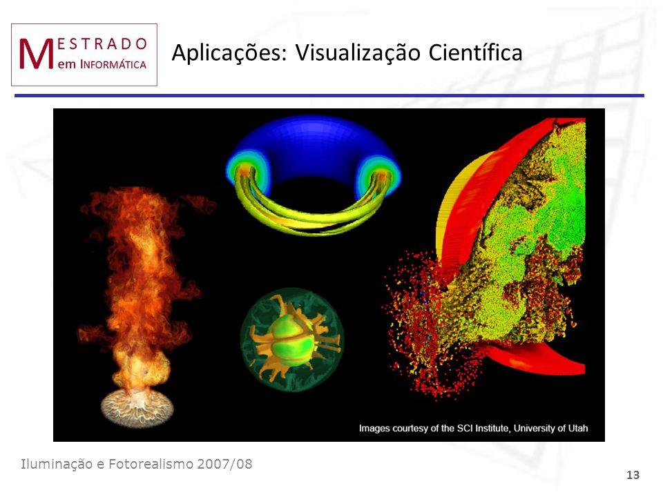Aplicações: Visualização Científica