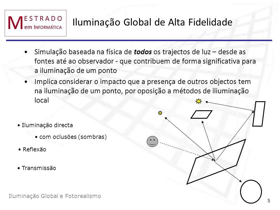 Iluminação Global de Alta Fidelidade