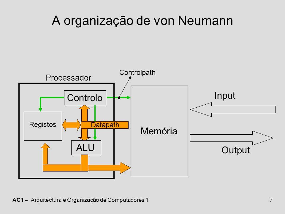 A organização de von Neumann