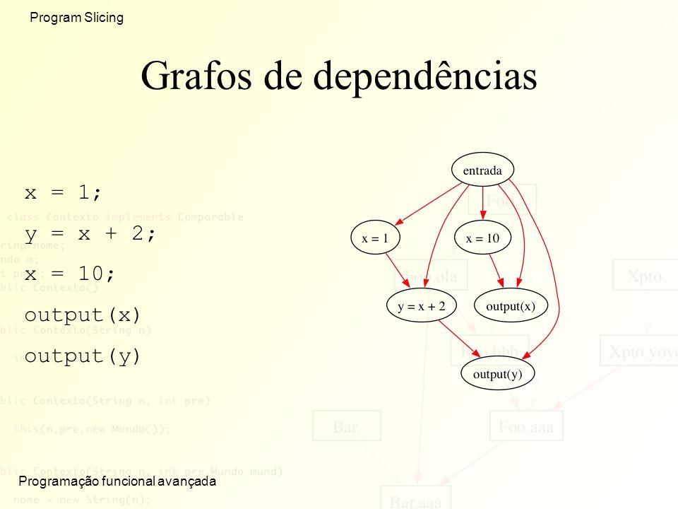 Grafos de dependências