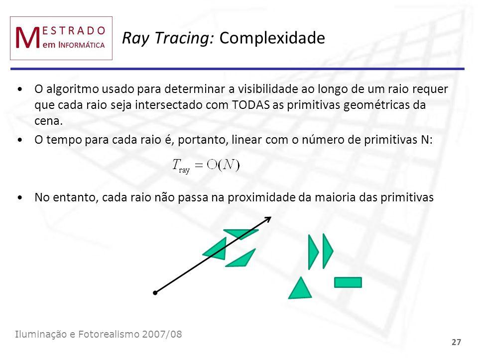 Ray Tracing: Complexidade