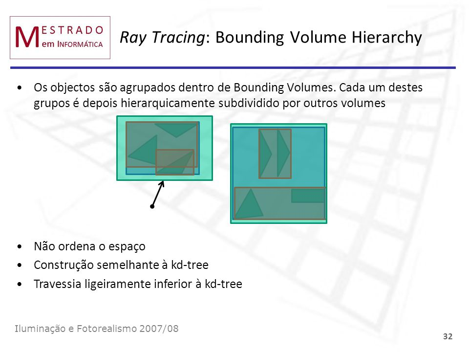 Ray Tracing: Bounding Volume Hierarchy