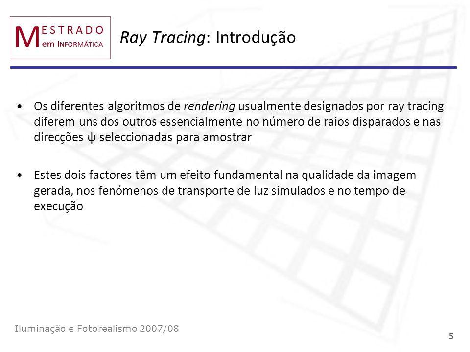 Ray Tracing: Introdução