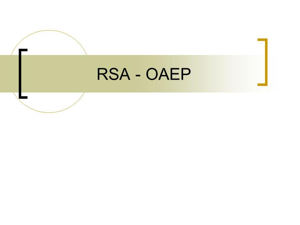 RSA - OAEP