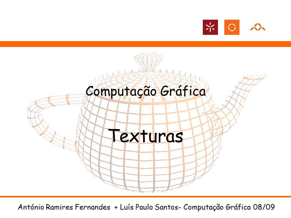 Computação Gráfica Texturas