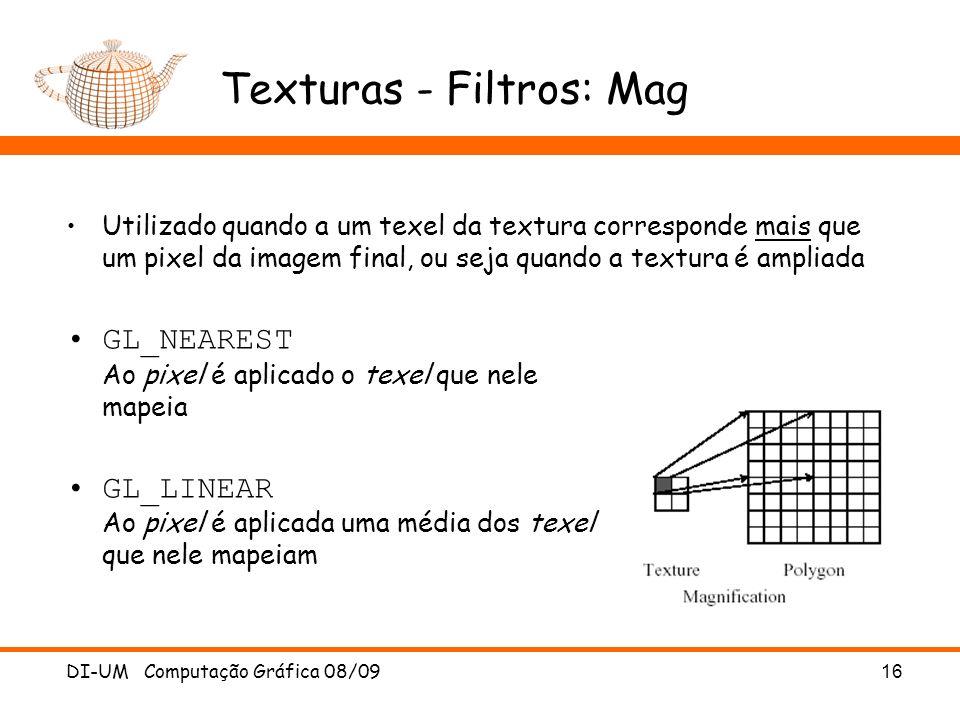 Texturas - Filtros: Mag