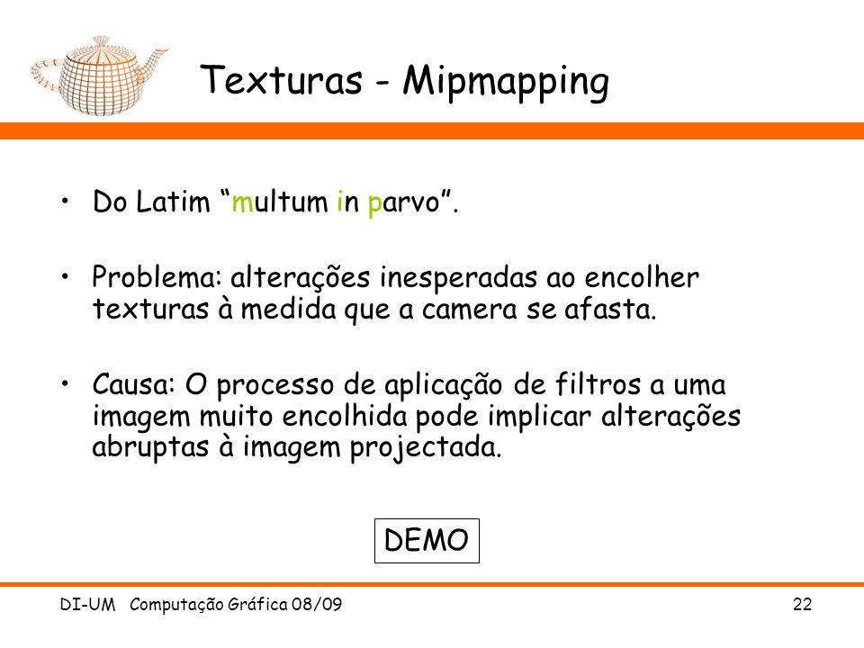 Texturas - Mipmapping Do Latim multum in parvo .
