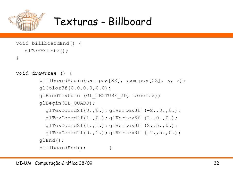 Texturas - Billboard