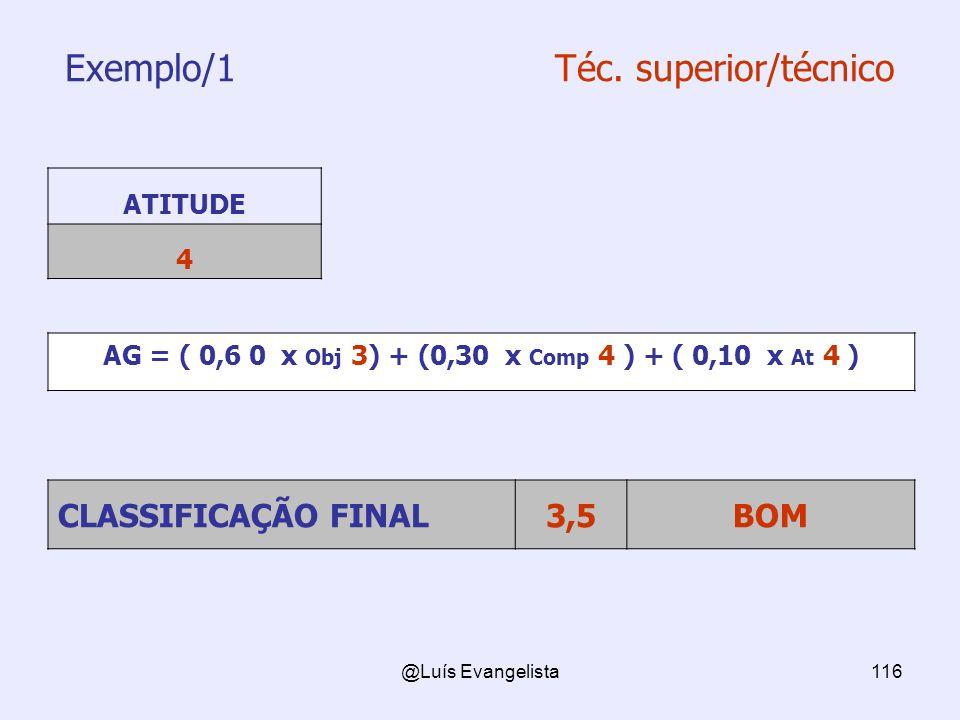 Exemplo/1 Téc. superior/técnico