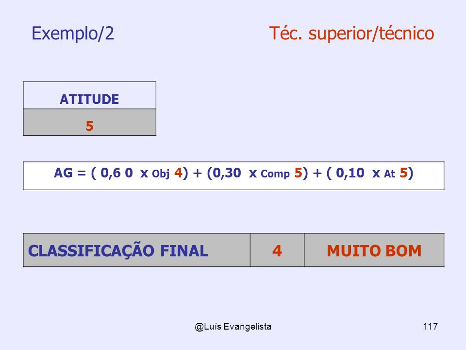Exemplo/2 Téc. superior/técnico
