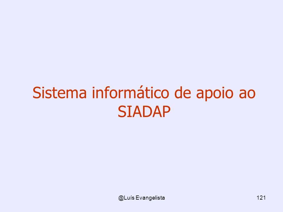 Sistema informático de apoio ao SIADAP