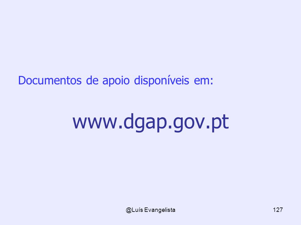 Documentos de apoio disponíveis em: