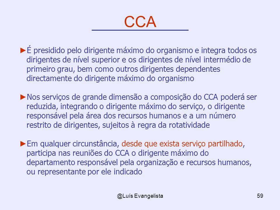 CCA É presidido pelo dirigente máximo do organismo e integra todos os