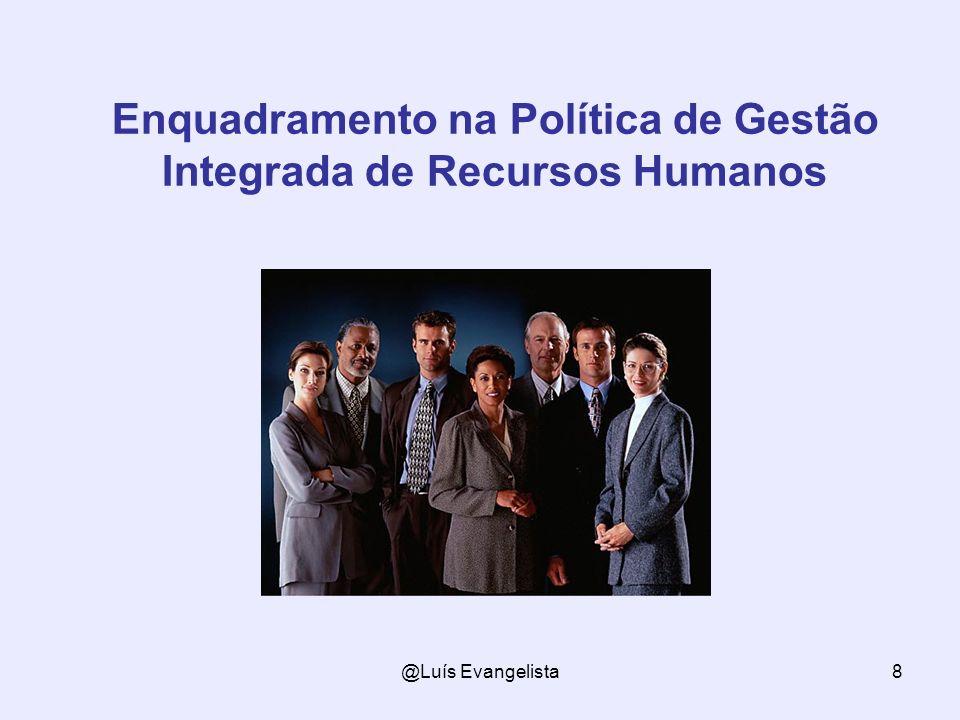 Enquadramento na Política de Gestão Integrada de Recursos Humanos