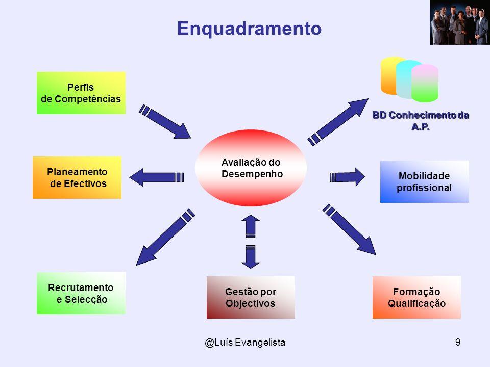 Enquadramento BD Conhecimento da A.P. Perfis de Competências