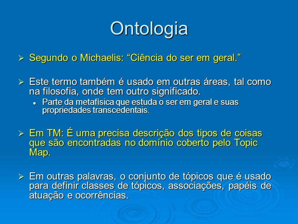 Ontologia Segundo o Michaelis: Ciência do ser em geral.
