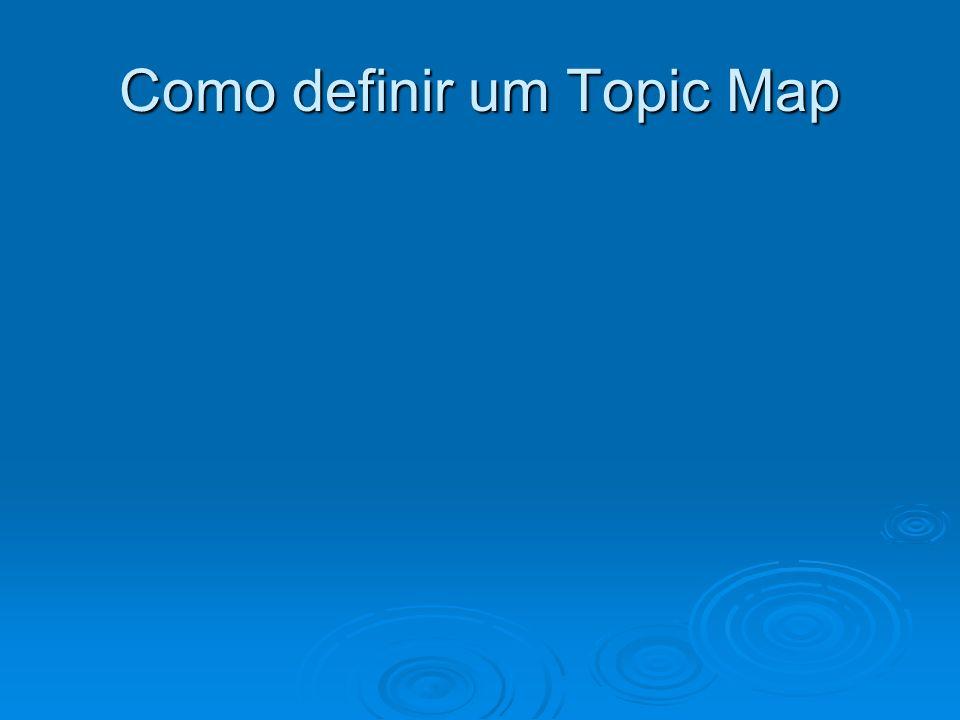 Como definir um Topic Map