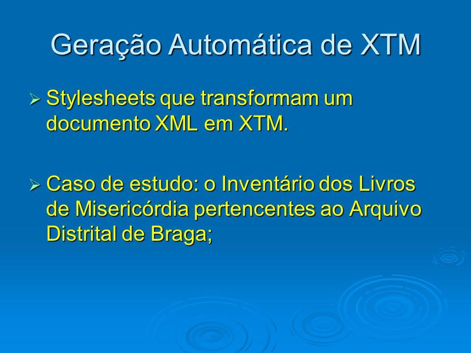 Geração Automática de XTM